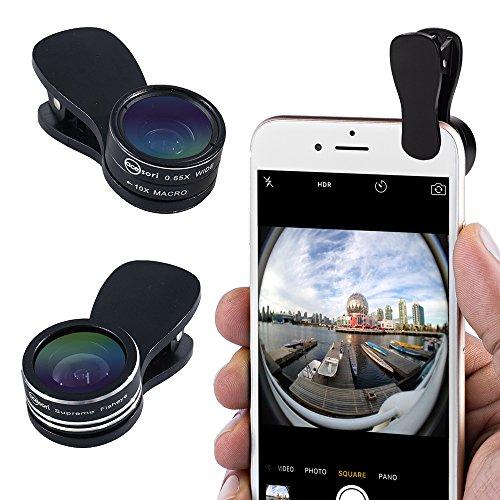 Acesori LensClip Universal Smartphone Fisheye