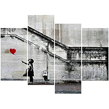 Amazon.com: Wall26 Canvas Print Wall Art - There is always hope ...