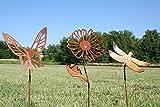 Rustic Garden Stake Set
