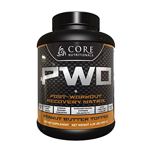 Core Nutritionals PWO - Post Workout Recovery Matrix - Peanut Butter Toffee