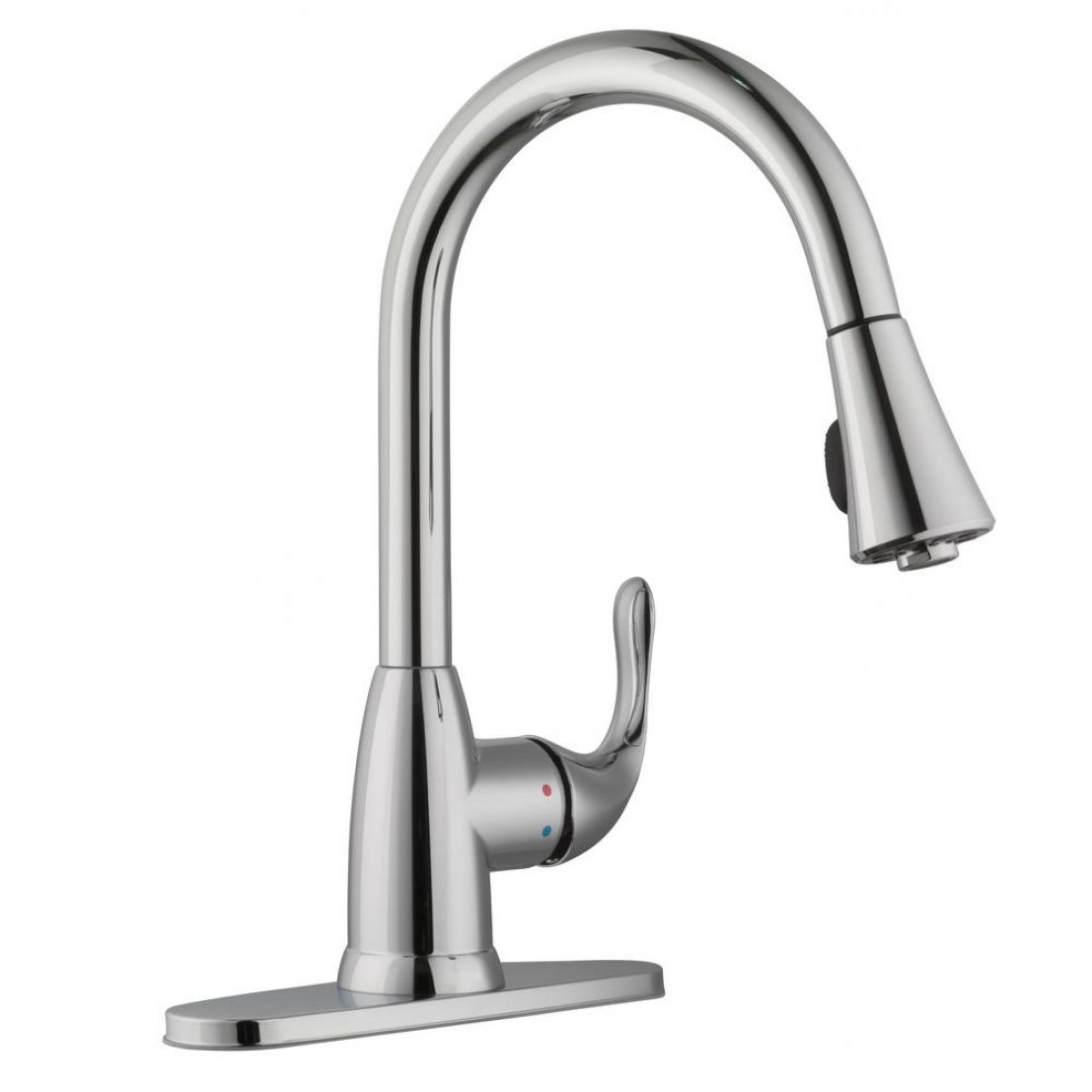 Glacier Bay HD67551-0301 Market Single-Handle Pull-Down Sprayer Faucet, Chrome by Glacier Bay