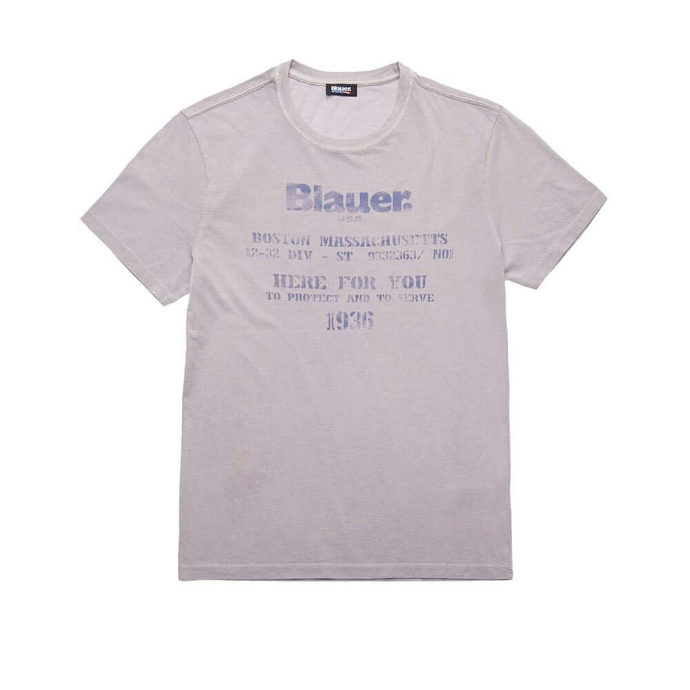 Blauer T Shirt Manga Corta 19SBLUH02316 5321 930 Perla Perla S ...