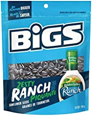 Bigs Sunflower Seeds Zesty Ranch Flavour - 8x140g Bags, 8 Count