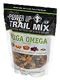 GourmetNut Power Up Trail Mix, Mega Omega Trail Mix 26 oz