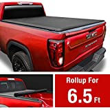 MaxMate Soft Roll Up Truck Bed Tonneau Cover for 1988-2007 Chevy Silverado/GMC Sierra 1500 2500 HD 3500 HD | 2007 Classic ONLY | Fleetside 6.5' Bed