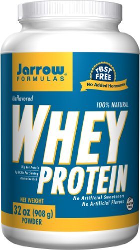 Jarrow Formulas - Whey Protein Unflavored 32 Oz Pack Of 8