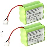 2 Pack 2000mAh 7.2V NiMh Battery for Mint 4200 4205 Floor Cleaner Battery Mint Automatic Floor Cleaner 4000 series iRobot Braava 320 321 Floor Mopping Robot