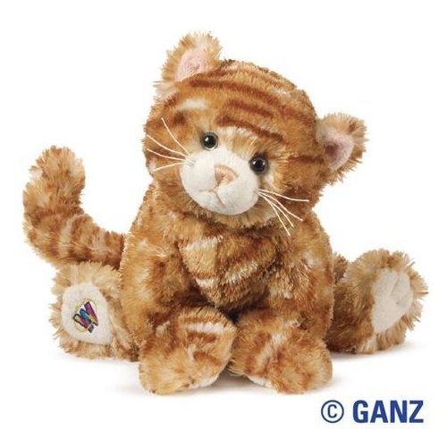 Amazon Com Webkinz Plush Stuffed Animal Ginger Cat Toys Games