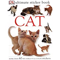 Ultimate Sticker Book: Cat: More Than 60 Reusable Stickers
