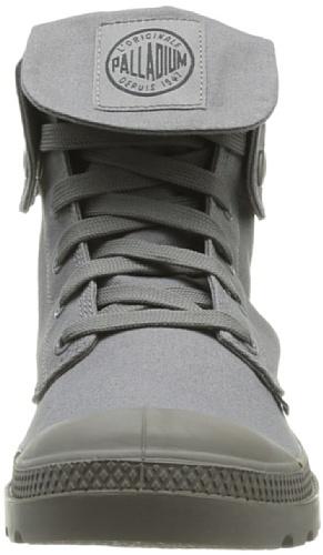 Palladium Mono Chrome U - Zapatillas de tela mujer gris - Grau - Gris (Dark Grey)