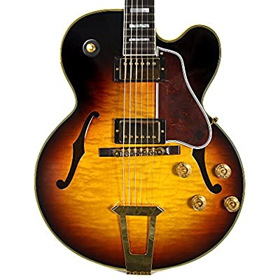 Gibson Memphis ES275F18SBGH1 ES-275 Custom Semi Hollow Body Electric Guitars Sunset Burst from Gibson Custom Memphis
