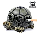 Monsiter Turtle Ashtrays for Cigarettes Cute Ash Tray for Home and Outdoor