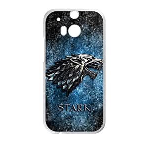 Stark Fashion Comstom Plastic case cover For HTC One M8