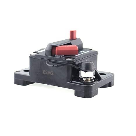 Amazon.com: PolarLander Car Fuse Box Holder Manual Reset with Switch on