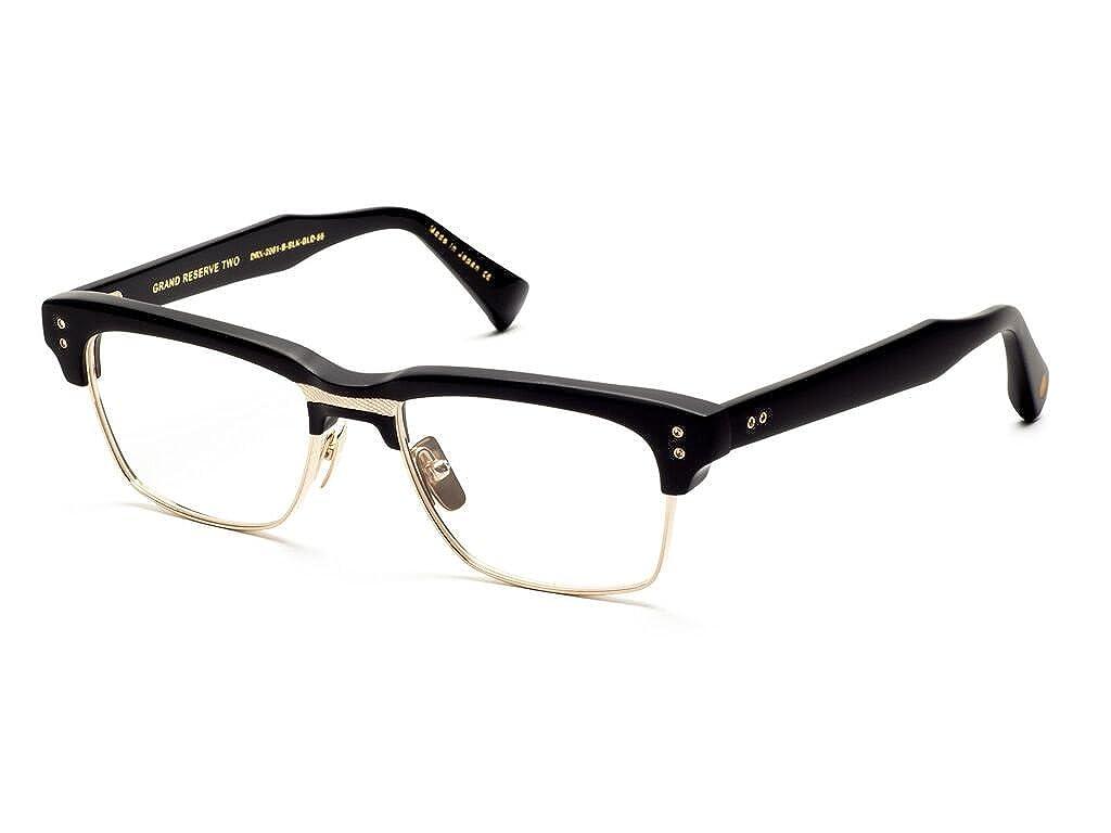 43cd313eff79 Dita GRAND RESERVE TWO DRX 2061 B-BLK-GLD Matte Black12K Gold Eyeglasses at  Amazon Men s Clothing store