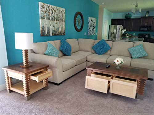 Modern Coffee Table - Maple Modern Coffee Table