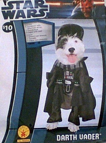 Xl Darth Vader Dog Pet Costume X-Large