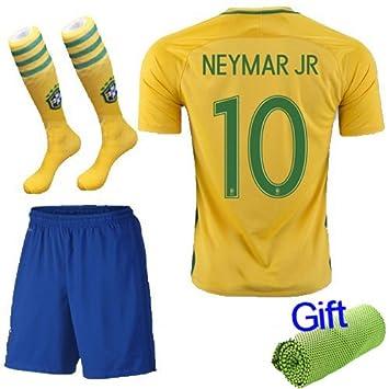 Barcelona Kids Jersey Home Kit de balón de fútbol amarillo ...