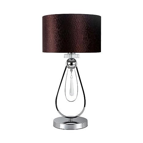 Amazon.com: GQQ Lámpara de mesa de cristal, interruptor de ...