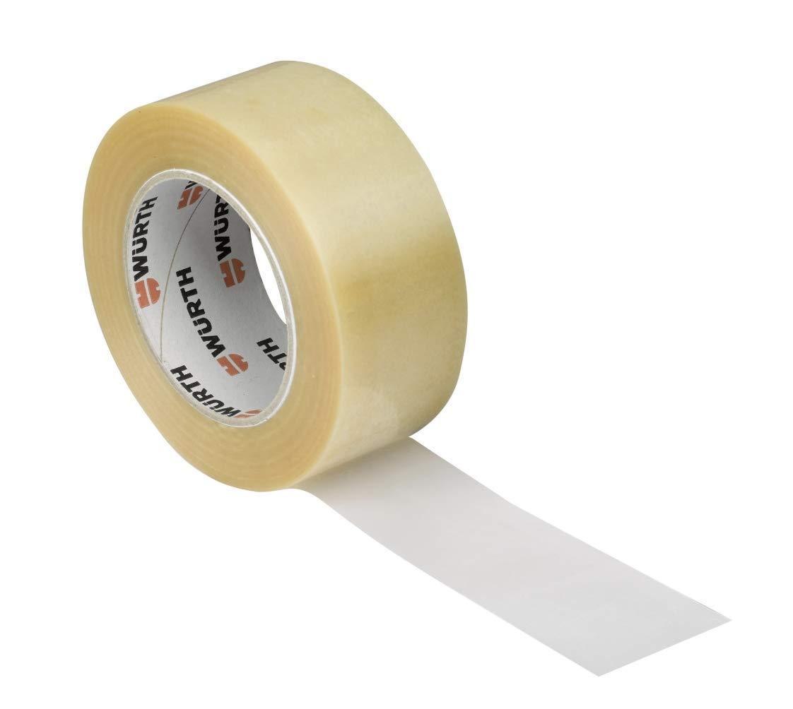Precinto Wurth cinta adhesiva para embalar PVC transparente 4 unidades 50 mm X 132 m: Amazon.es: Industria, empresas y ciencia