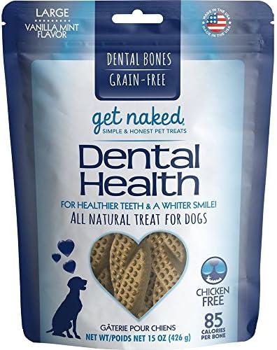 Get Naked Grain-Free Large Dental Chew Bone