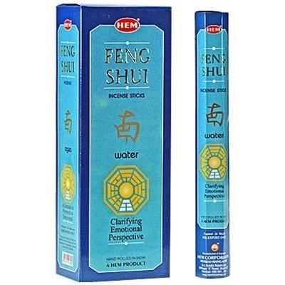 Feng Shui Water (Feng Shui Water - Box of Six 20 Stick Tubes - HEM Incense)