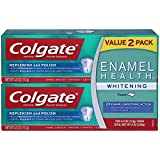 Colgate Enamel Health Toothpaste, Whitening Twin Pack, 4 Ounce