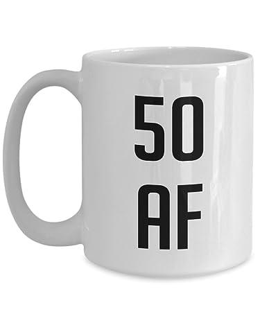 Amazon 50 Af Mug