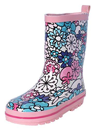 rain boots girls size 2 - 2