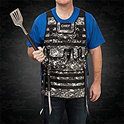 Tactical Chef BBQ Apron - Digital Urban Camo