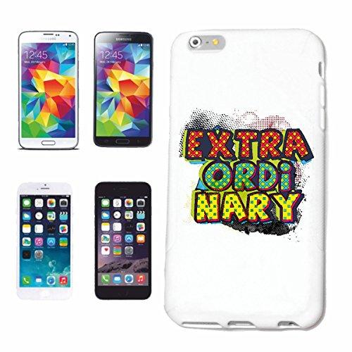 """cas de téléphone iPhone 7 """"EXTRA ORDI nary extraordinar SEXY BACHELOR ADIEU BACHELOR PARTY Spruche"""" Hard Case Cover Téléphone Covers Smart Cover pour Apple iPhone en blanc"""