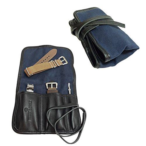 Cloth Buckle Storage Box Small (Blue) - 1