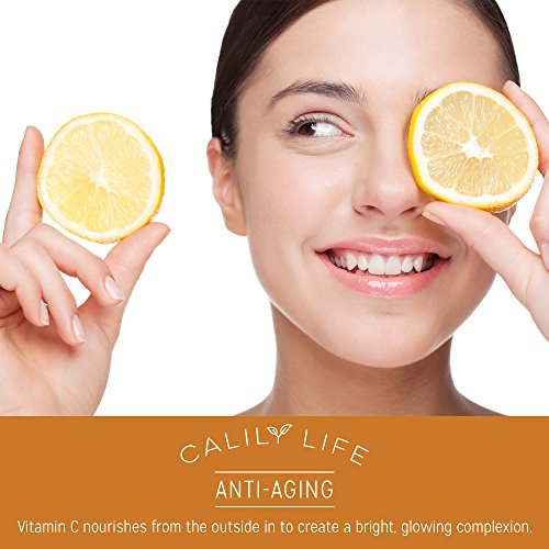 Calily Life Acid Vitamin C Dead Minerals, 1 Oz. – Contains Vitamins A, C, Youthful - Enrichens, Strengthens