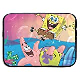 CHLING Spongebob Laptop Sleeve Bag Compatible 13-15 Inch MacBook Pro/MacBook Air/Notebook
