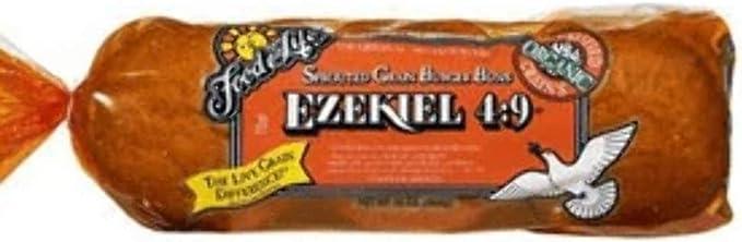 Food f Original Life Ezekiel 49 bollos de hamburguesa de grano entero germinado (proteína completa, vegano, todo natural y kosher) Comprar