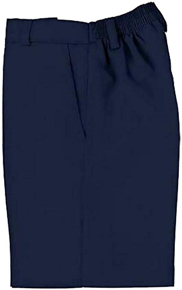 Eshoppingwarehouse Kids Half Elasticated School Uniform Shorts Boys Two Pockets Zip and Clip Shorts