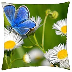 Cocktail of daisies - Throw Pillow Cover Case (18