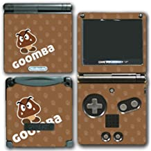 Goomba Cute Enemy Skin Super Mario Bros 2 3D Land World Video Game Vinyl Decal Skin Sticker Cover for Nintendo GBA SP Gameboy Advance System