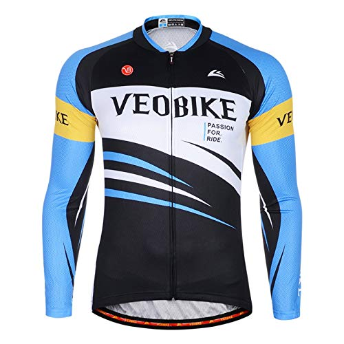 Beydodo Cycling Jacket Men Riding Suit Winter Style 3 Outdoor and Running, Racing Sport Sport Sleeves Size XXL
