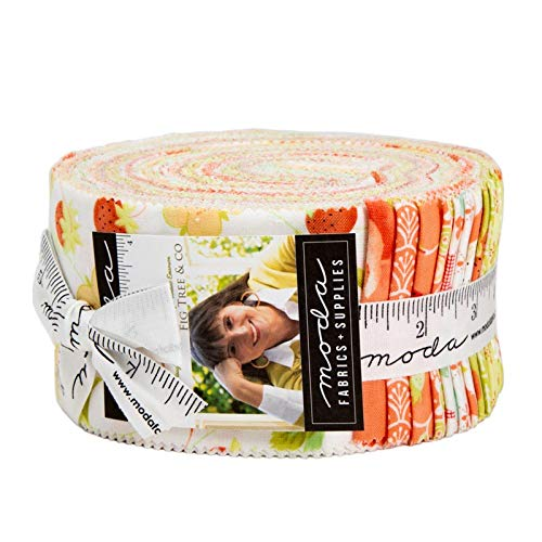 - Chantilly Jelly Roll by Fig Tree and Co for Moda Fabrics