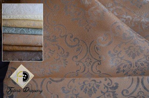 Medallion Palazzo (Fantastic Sheer Palazzo Medallion Fabric, Color Latte, 57