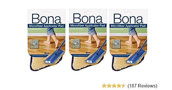 Bona Pro Series AX0003445 18-Inch Microfiber Applicator Pad