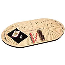 """Across The Board Kentucky Derby/Churchill Downs Horse Racing Game, 15.5"""" x 28"""" x 0.75"""", Maple"""