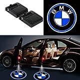 Bearfire Fit BMW Door Lights 2PCS Car Door Projector Light Led Welcome Lights Car logo Suitable For All Models