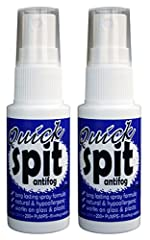 Now the worlds most recognized antifog comes in a spray. Quick spit spray works on anything that fogs, including dive masks, swim goggles, paintball masks, sport goggles, safety goggles, ski goggles, eye wear, windows, binoculars, scopes and ...