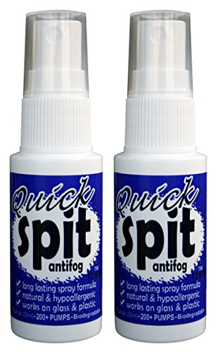 (Jaws Quick Spit Antifog Spray (Pack of 2), 1-Ounce)