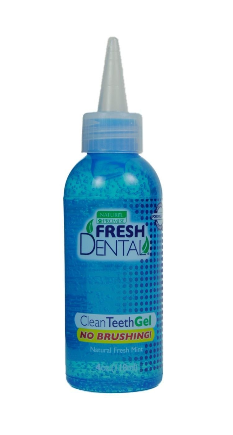 Naturel Promise Fresh Dental Clean Gel for Dogs/Cats, 4-Ounce by Naturel Promise
