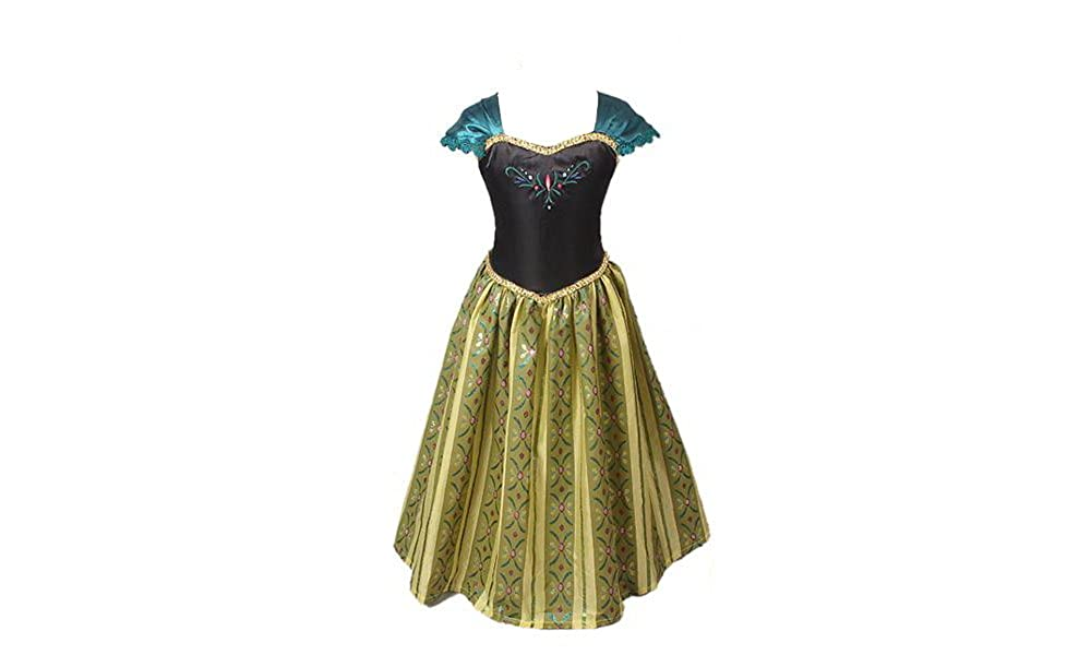 Live It Style It Princess Dress Cosplay Fancy Costume Party Anna Elsa Inspired