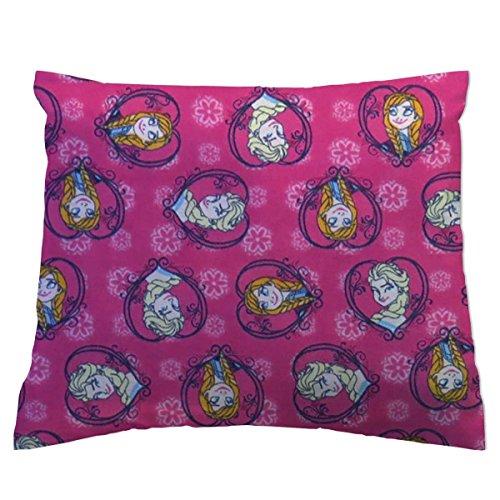 - SheetWorld Crib / Toddler Baby Pillow Case - Flannel Pillow Case - Anna & Elsa - Made In USA