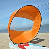 Flashsolar 42'' Downwind Wind Paddle Popup Board Kayak Sail Kit Kayak Wind Sail Kayak Accessories, Easy Setup & Deploys Quickly, Compact & Portable
